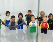 Custom make your OWN head for Lego Minifigure