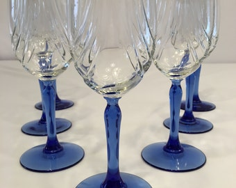 Lenox crystal etsy - Lenox gold rimmed wine glasses ...