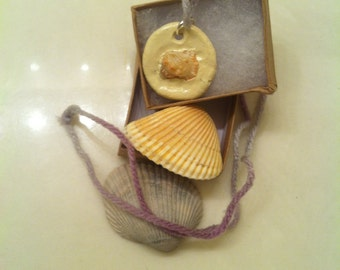 Shell Clay Necklace