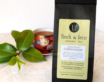 Organic Herbal Tea: CINNAMON   Loose Leaf   Large (4 oz)