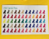 Colorful Road Planner Stickers