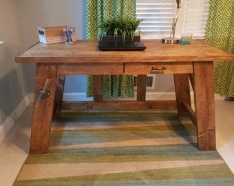 Felix Craftsman Wood Desk
