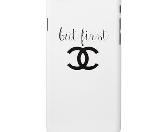 Phone Case But first Cc Iphone Case, Samsung phone case, Fashion Phone Case , Worldwide shipping