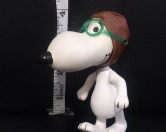 Vintage 1968 Peanuts SNOOPY Red Baron Skediddle No Walker/Pusher!