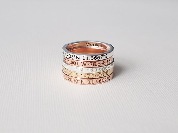 Love these beautiful coordinates ring