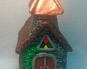 "Handpainted ""Church"" Figurine"