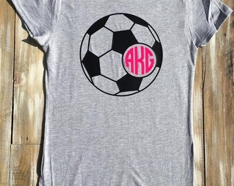 Monogram Girls' Soccer Vinyl Shirt