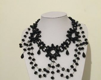 Gothic necklace, Gothic necklace