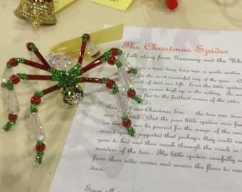 Beaded Spider Pendant/Ornament