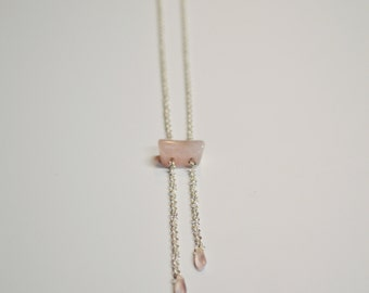 Asymmetrical Hanging Necklace