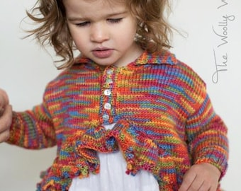 KNITTING PATTERN - Louella Cardigan