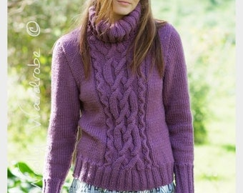 KNITTING PATTERN - Lola Sweater