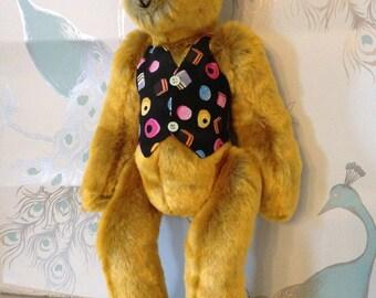Meet Matthew. He's a designer bear