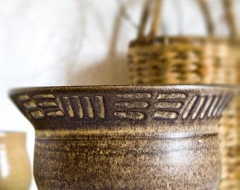 ceramic bowl, soup bowls, pottery bowl, stoneware bowl, handmade pottery,  japanese ceramics, ceramic salad bowl, serving bowl, planter