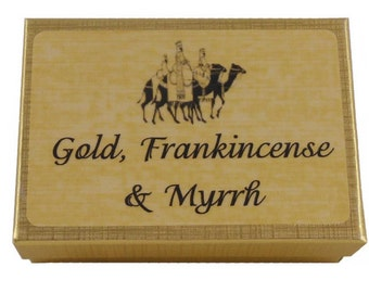 Gold, Frankincense & Myrrh - The Gifts of the Magi
