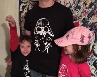 Youth Star Wars T-Shirt, Darth Vader T-Shirt, Boys T-Shirt, Clothing, Youth T-Shirt, Boys Clothing, Girls Clothing, Girls T-Shirt, T-Shirts