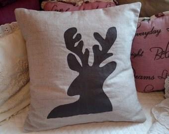 Brown Deer Pillow Case