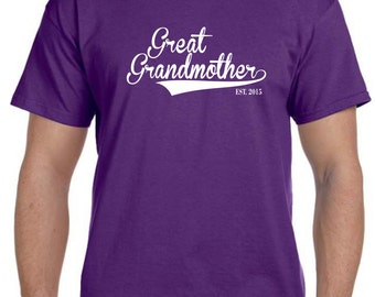Personalized Grandparent Gift Valentines Day Great Grandma Grandmother Gift Personalized Grandma Gift ( Pick ANy Year) Gifts For Grandma