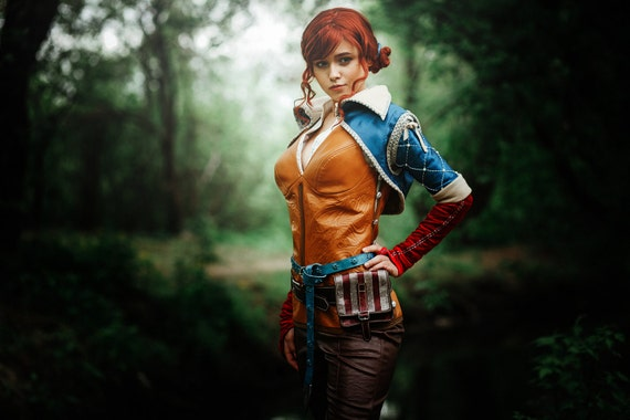 Triss Merigold cosplay costume The Witcher 3: Wild Hunt