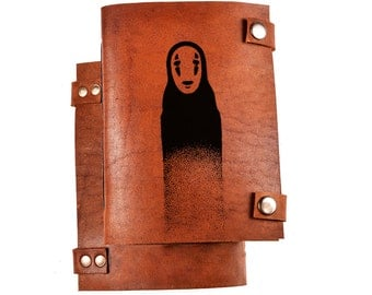 Spirited Away journal - No-Face journal - Spirited Away notebook - No-Face notebook - Spirited Away No-Face - No face - anime journal