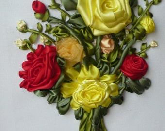 Spring Colours Roses Bouquet
