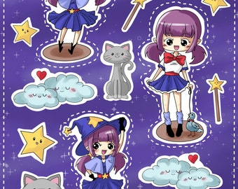 Sumi-chan Stickers
