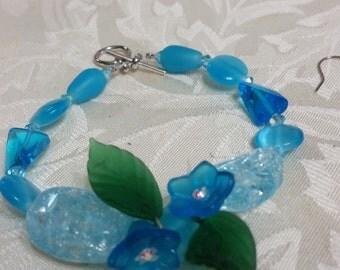 Crystal Sky Blue Bracelet
