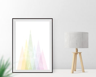 Art print / / mountains