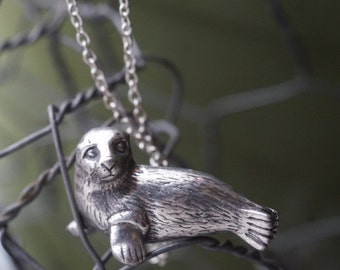 Arctic Seal Necklace