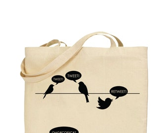 Twitter CopyCat Tote Bag