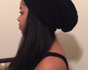 Frizz Free Protective Lined Beanie Hat - Great for Natural Hair!