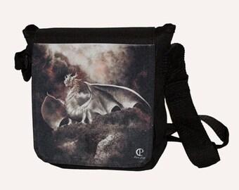 Shoulder bag Silver Dragon