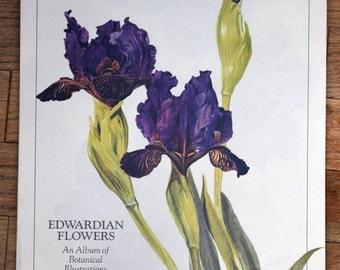 Vintage Avon Calendar/vintage floral calendar/flower calendar/Edwardian floral calendar/edwardian flowers/1990 calendar/1990 Avon