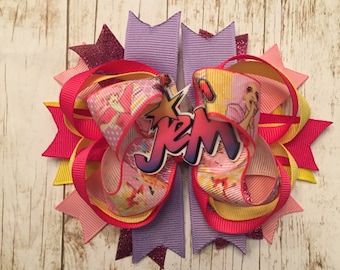 Jem boutique style hair bow