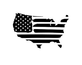 United States - American Flag Decal with FREE SHIPPING