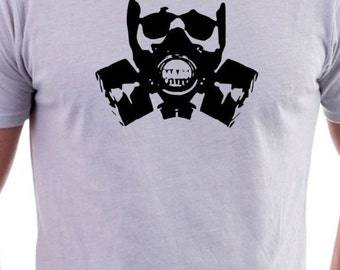 T-shirt with Gas mask Logo