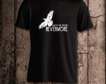 Nevermore | Men's tee | Inspired by Edgar Allan Poe's The Raven