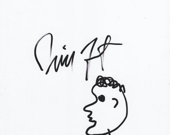 Will Forte Signed Sketch