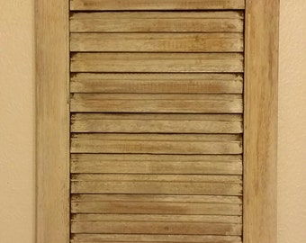 Rustic Window Shutter