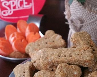 """Gourmet Dog Treats - """"Carrot Cake Carpals"""" - 1.5"""""""