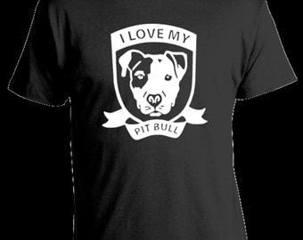 Love Pit Bull T-Shirt