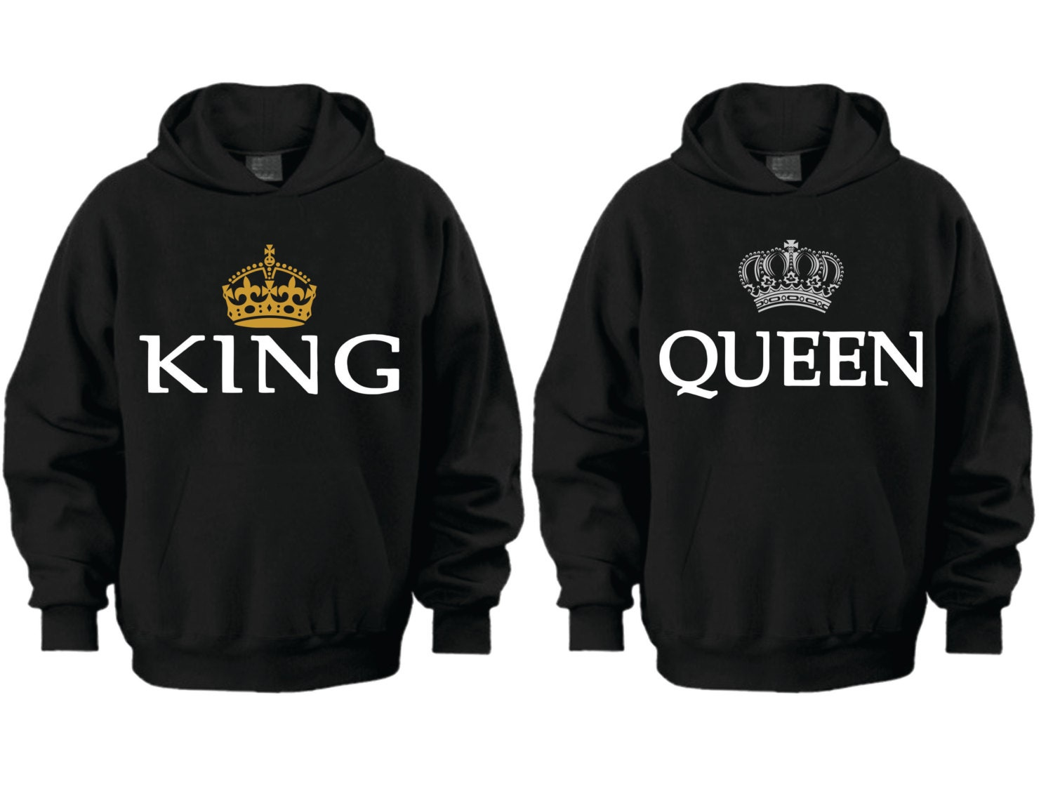 king queen price is for 2 hoodies. Black Bedroom Furniture Sets. Home Design Ideas