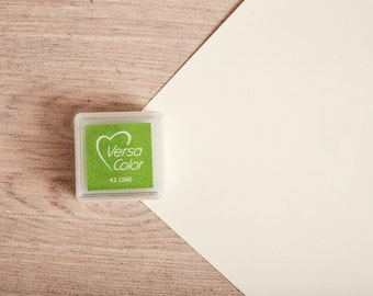 Green - Rubber Stamp Mini Ink Pad