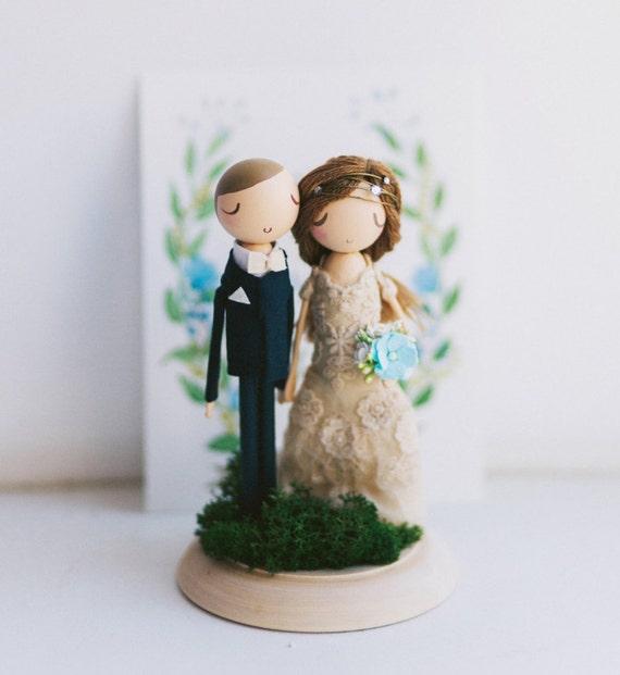 Rustic Wedding Cake Topper Cake Topper Wooden Topper Wooden