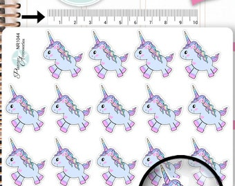 Unicorn Stickers Unicorn Planner Stickers Planner Stickers Erin Condren Decorative Stickers Live Planner NR1044