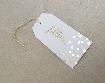Unique calligraphy gift tag related items Etsy