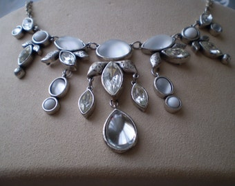 Silver Luster Necklace