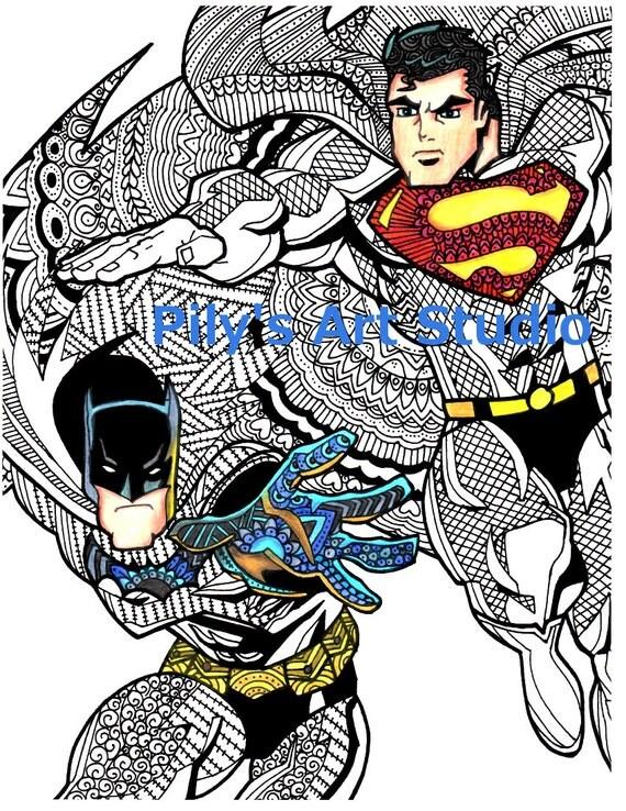 Instant Download PDF Superman/Batman Dawn of justice