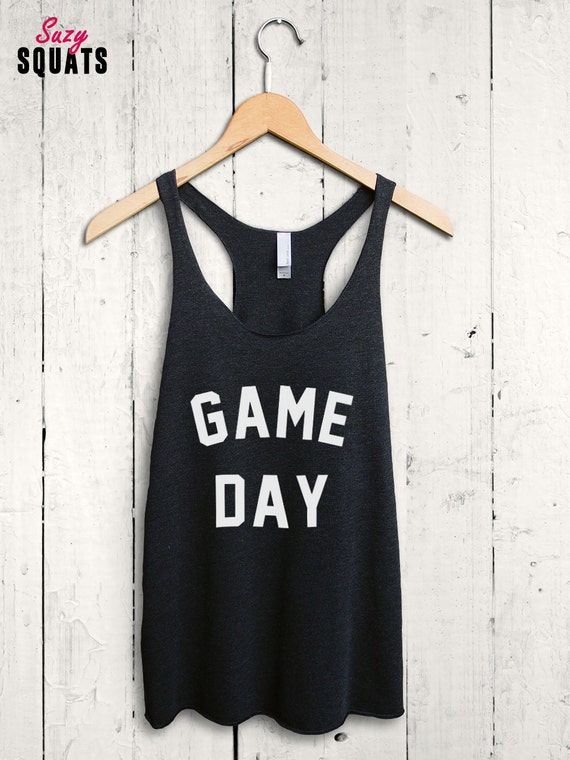 Game Day Shirt Game Day Tank Top Soccer Mom Shirt By
