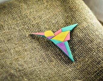 Origami hummingbird | Etsy - photo#23